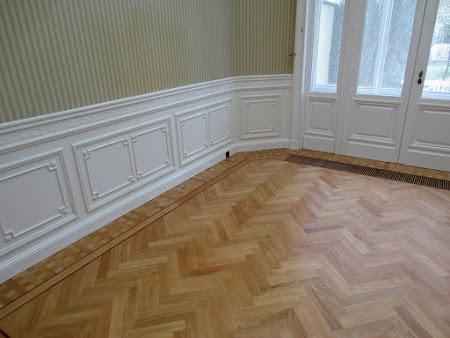 Opfrissing / Renovatie van een bestaande houten vloer