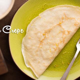 Basic Coconut Flour Crepe.