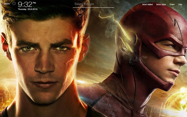 The Flash Wallpapers FullHD New Tab