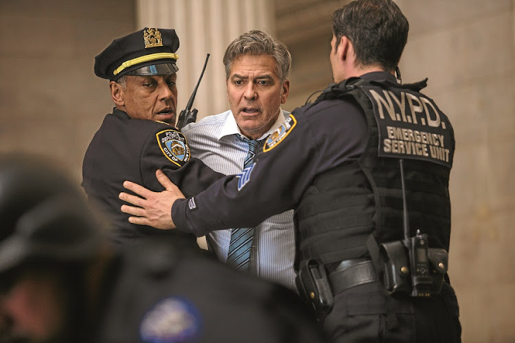 George Clooney. Never less than gripping. Picture: SUPPLIED