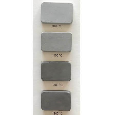 Stengodslera grå/svart med chamotte - 1000-1240°C