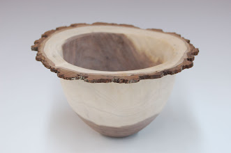 "Photo: Tim Aley - bowl - walnut - 8.5"" x 4.5"""