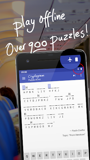 Cryptogram - 900+ free cryptoquotes  screenshots 3