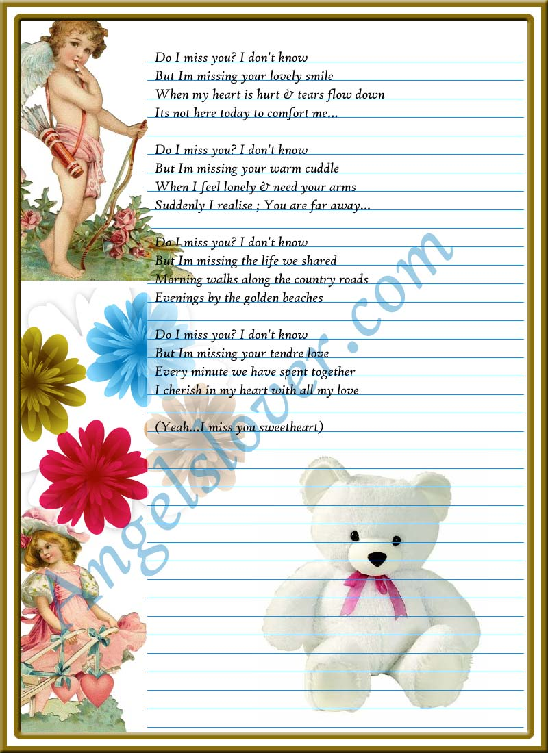 I Miss You So Much Baby Poems For My Grandparents Aunt And Uncle