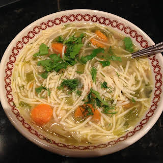 Chicken Noodle Soup (Rosół).