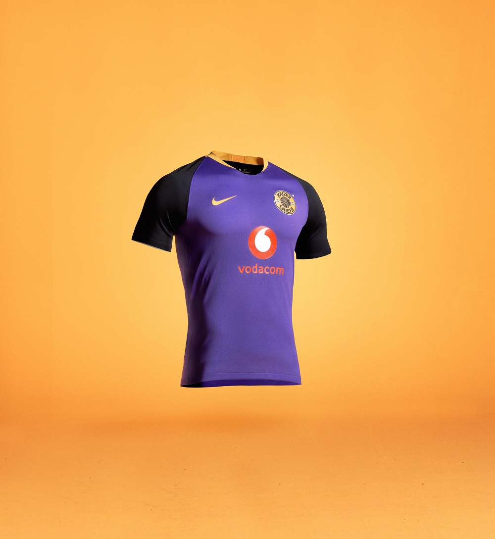 Kaizer Chiefs' away kit.