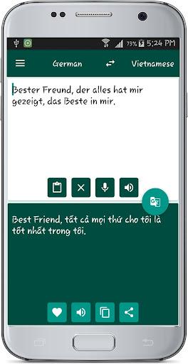Vietnamese German Translate 1.2 screenshots 3