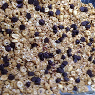 No Bake Cheerios Granola Bars