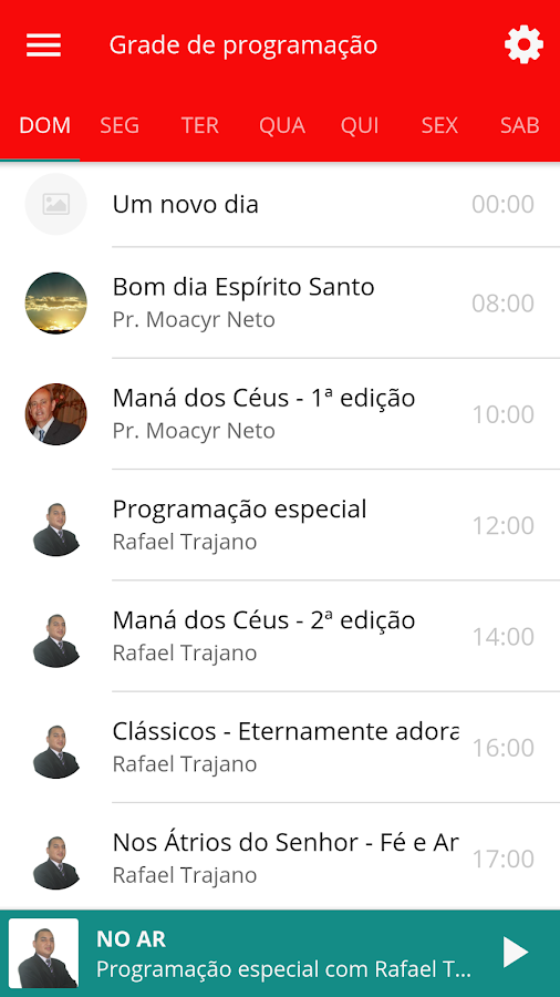 Rádio Tempo de Amar- screenshot