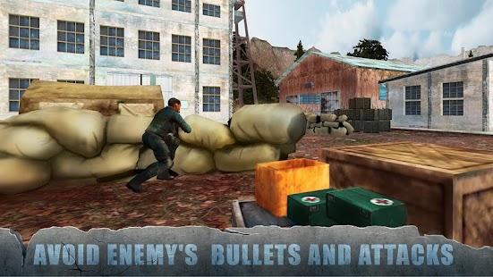 World War 2 Frontline Army Strike Squad Attack - náhled