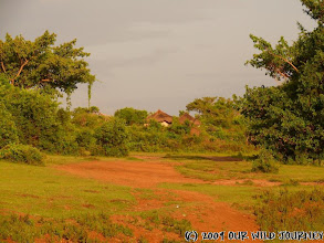 Photo: Trans Mara - maasajská vesnice / Trans Mara - Maasai village
