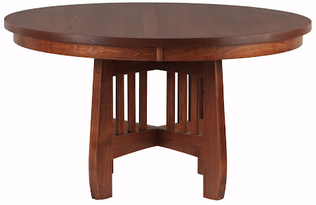 "54"" Diameter Sonora Round Table in Antique Cherry"
