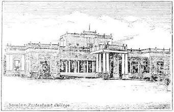 Photo: Doveton Protestant college - Founded 1855 ( Now Doveton Corrie School ).