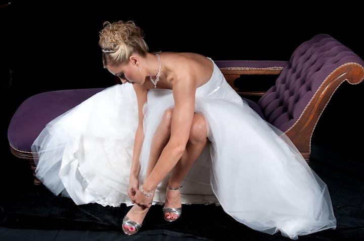 Bride + Bridal Shoe'