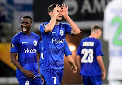 Europa League : Un joueur de Gand dans l'équipe-type de la semaine