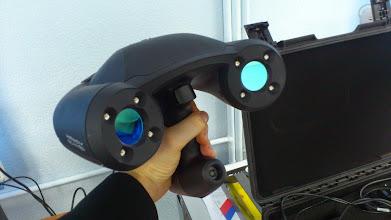 Photo: Экскурсия в ЦМП УрФУ. 3D-сканер ZScaner 600