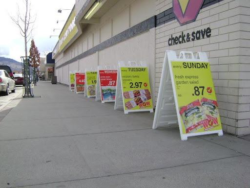"""War of the Sidewalk Sandwich Signs"""