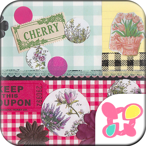 Cute Theme-Botanical&Gingham- Icon