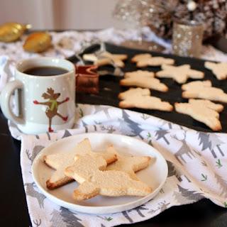Vegan Keto Sugar Cookies.