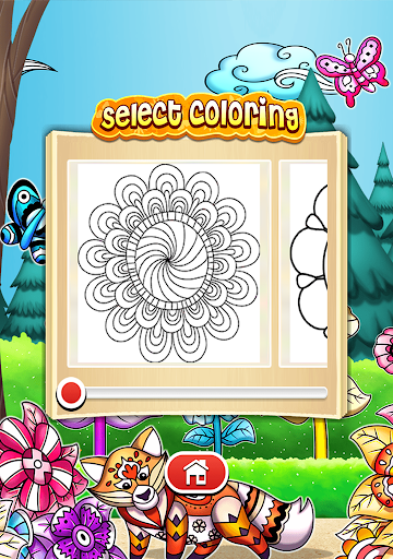 Mandala Coloring Pages  screenshots 5