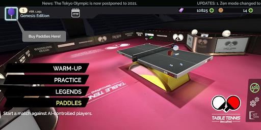Télécharger Gratuit Table Tennis ReCrafted! mod apk screenshots 1