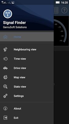 Signal Finder - screenshot