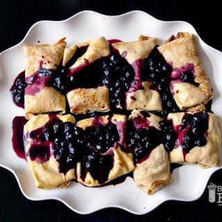 Blueberry Blintzes.