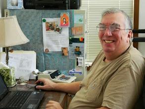 Photo: Gene, our web page teacher