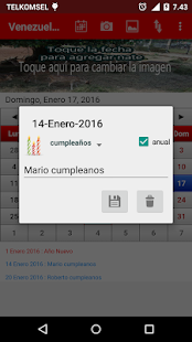 Venezuela Calendario 2017- screenshot thumbnail