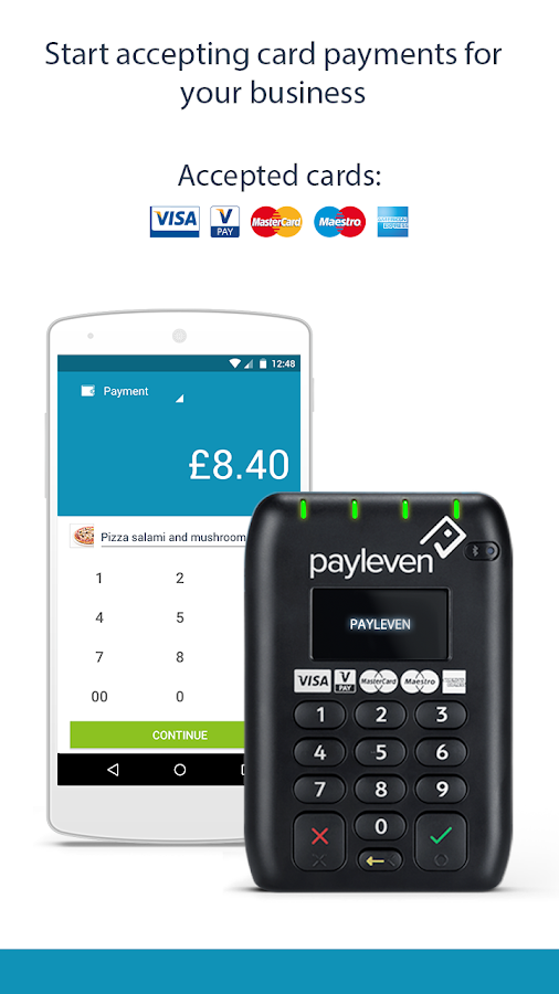 payleven: mobile card payments- screenshot