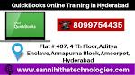 Best Quickbooks Online Training in Hyderabad