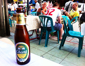 Photo: Chang beers.  Khaosan Road.