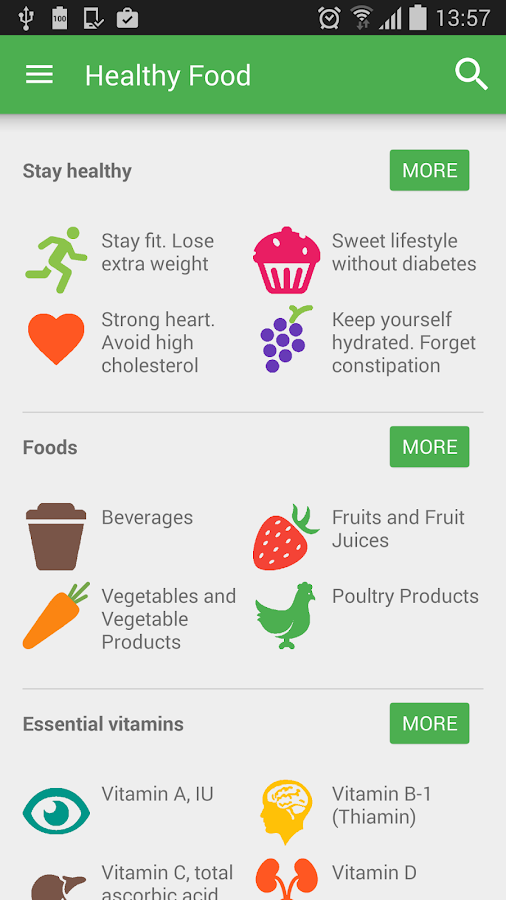 Healthy Food – Android Apps on Google Play