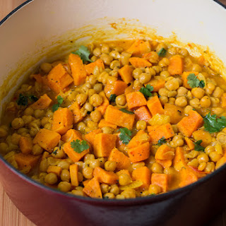 Harvest Chickpea And Sweet Potato Curry