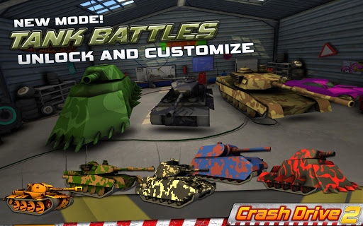 Crash Drive 2: 3D racing cars - screenshot