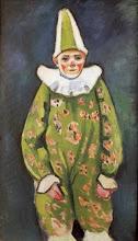"""Photo: August Macke, """"Clown al circo"""" (1912)"""