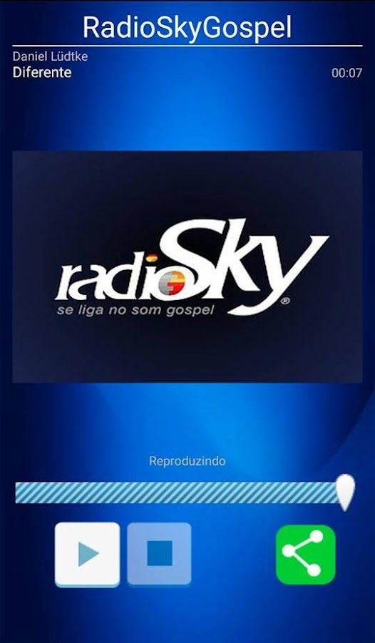 RadioSkyGospel- screenshot