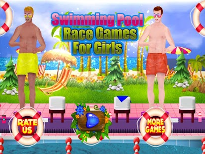 Swimming Pool Race Games for Girls - náhled