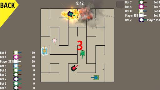 Panzer Warfare: Tank Strike game for Android screenshot