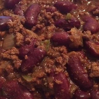 Pressure Cooker Chili.