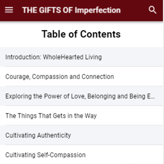 The Gifts Of Imperfection By Brene Brown cheat hacks