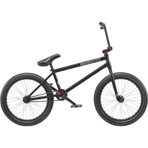 "Radio Comrad BMX Bike - 21"" TT, Matte Black"