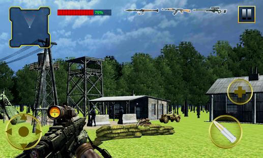 Commando adventure Game 2016- screenshot thumbnail