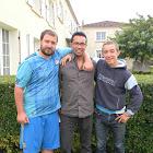 Equipe coureurs Marathon Cognac 2015 profit L'Arche
