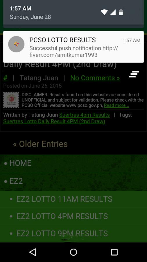 Pcso online keno results / Free gaming slots