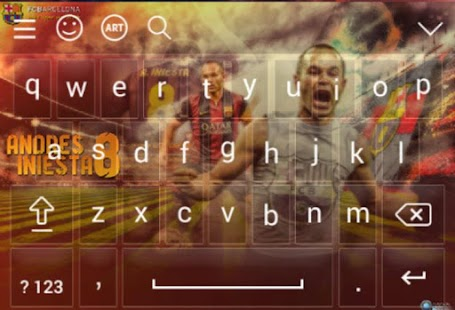 Keyboard For Iniesta - náhled