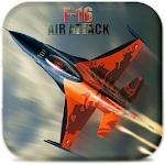 F16 Air Attack- Gunship 3D Icon