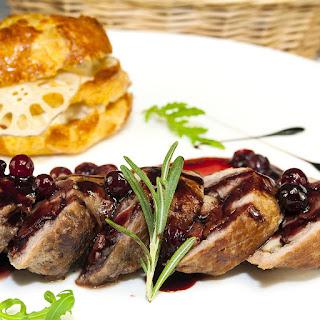 Cranberry-Glazed Turkey Breast Cutlets