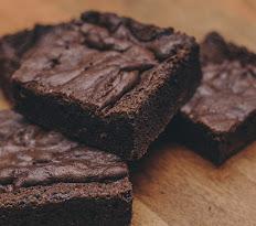 Gluten-Free Dark Chocolate Brownie