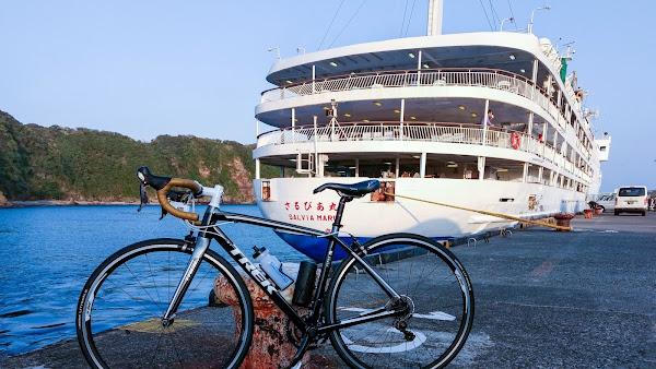 伊豆大島 自転車 一周